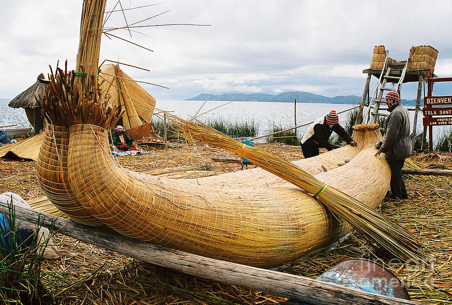 how to build boats from reeds
