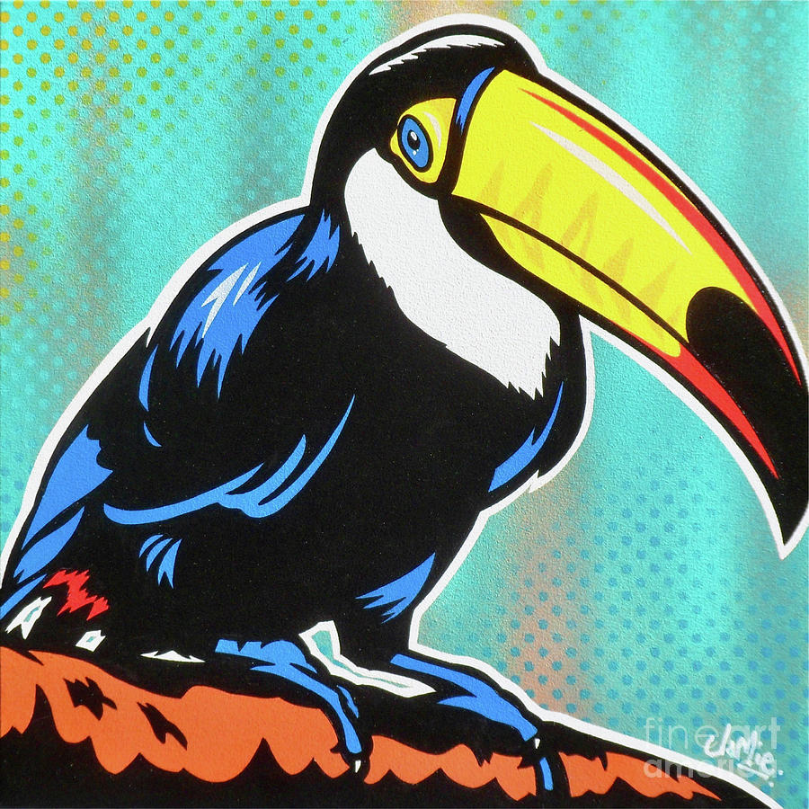 Painting Painting - Toucan by James Lee