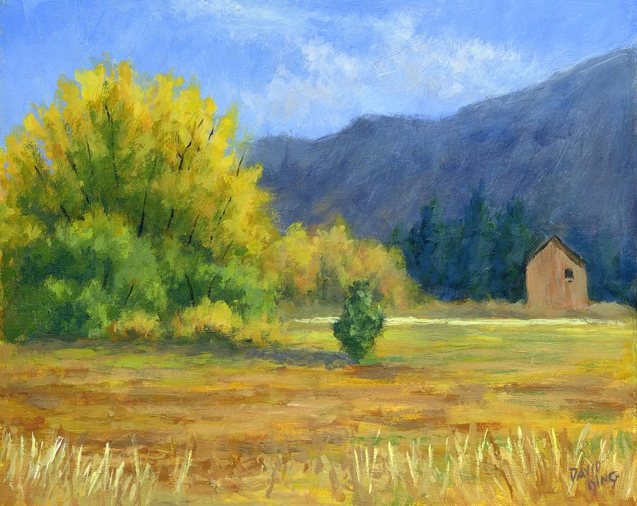Landscape Painting - Touch Of Autumn by David King