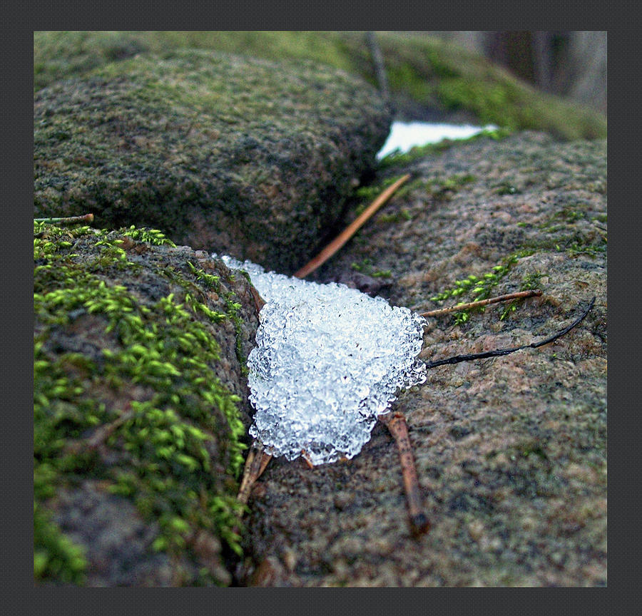 Landscape Photograph - Touch Of Snow by Amanda Dooley