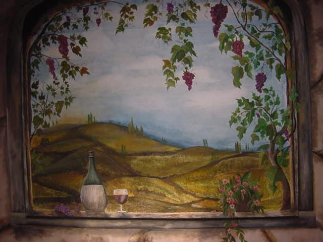 Tuscany Painting - Touch Of Tuscany by Lisa Ruggiero