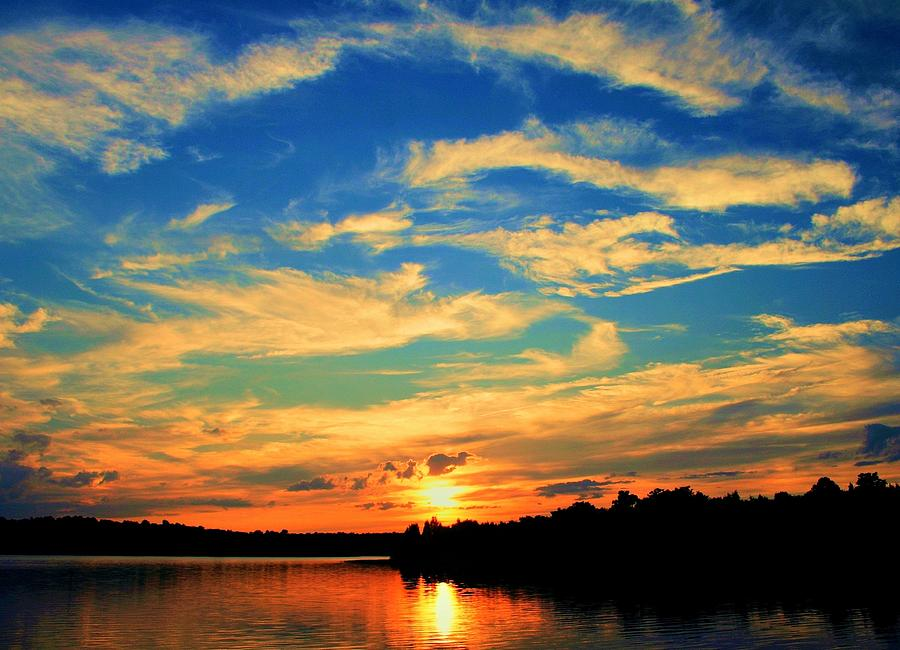 Sunset Photograph - Touch The Wind by Mitch Cat