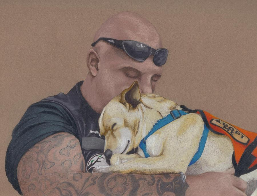 Tattoo Drawing - Tough Love by Stacey Jasmin