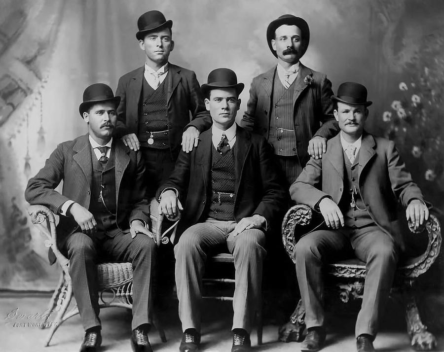Wyoming Photograph - Tough Men Of The Old West 2 by Daniel Hagerman