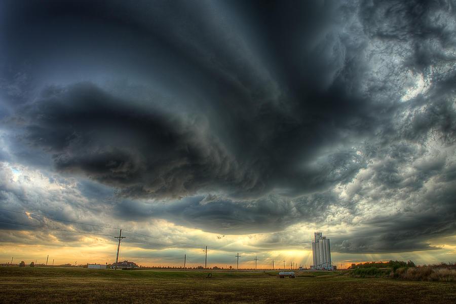 Storm Photograph - Toulon Turmoil by Thomas Zimmerman