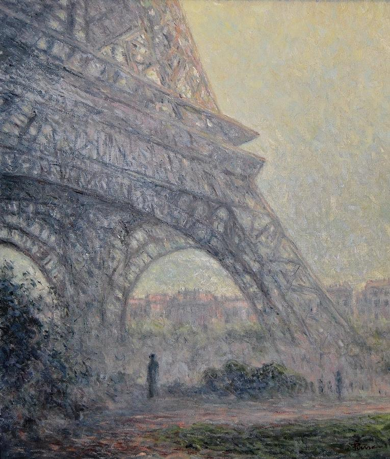 Paris , Tour de Eiffel  by Pierre Van Dijk