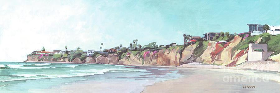 Tourmaline Surfing Park Pacific Beach San Diego by Paul Strahm