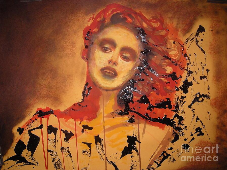 Painting Painting - Tourmente by Bayou Faiza