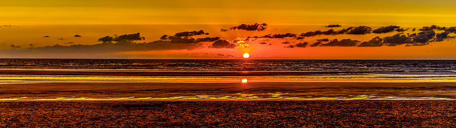 Tourville-sur-Mer Sunset by Jim Collier