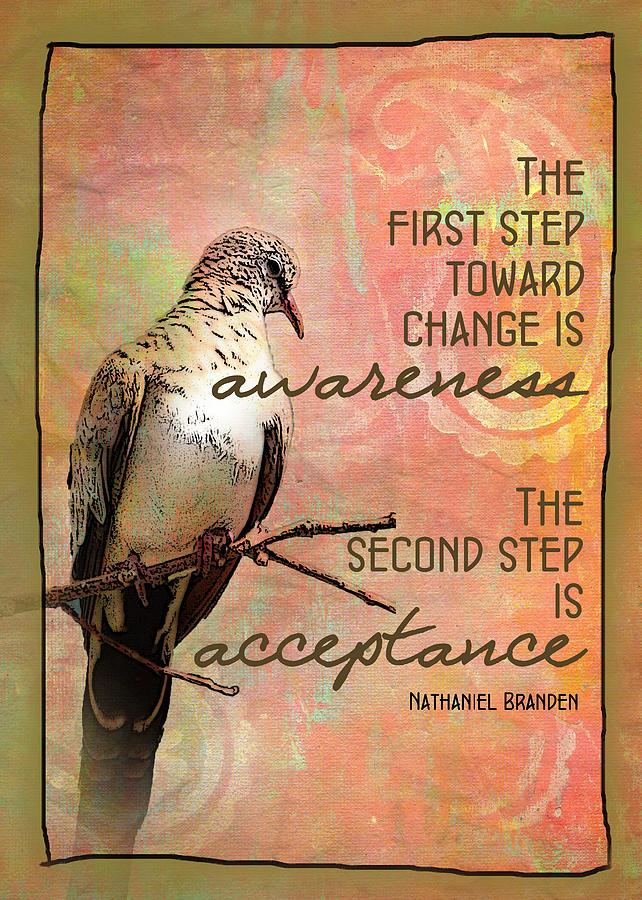 Toward Change Card by Karen Kuykendall