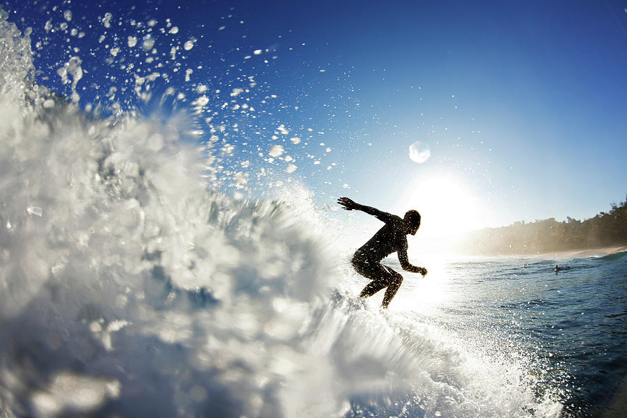 Water Photograph - Towards The Light by Sean Davey