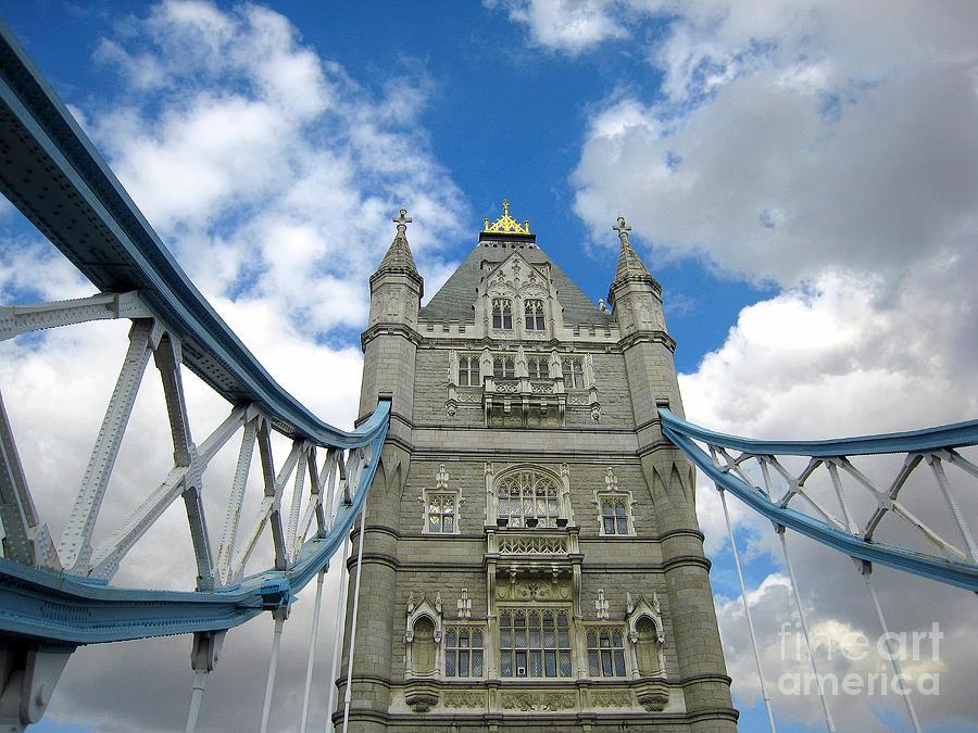 London Photograph - Tower Bridge 2 by Madeline Ellis