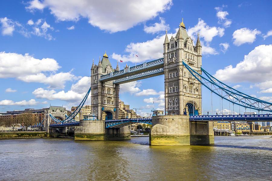 Tower Bridge Photograph - Tower Bridge by Angela Aird