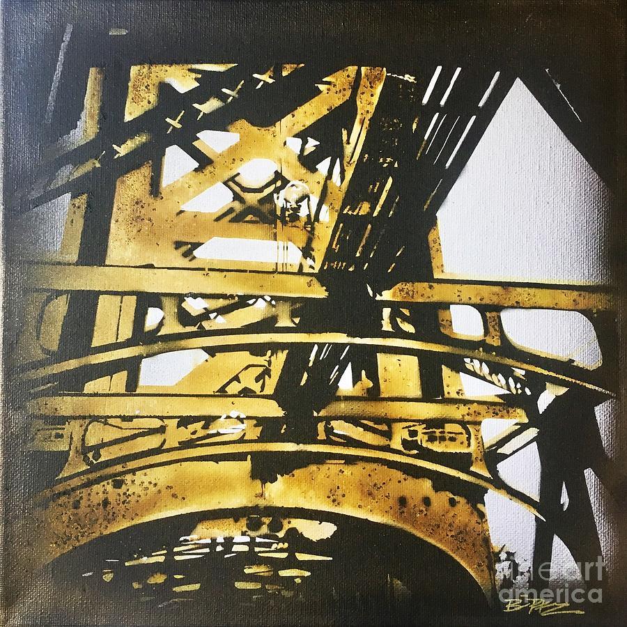 Bridge Pyrography - Tower Bridge by Brandi Pfleider