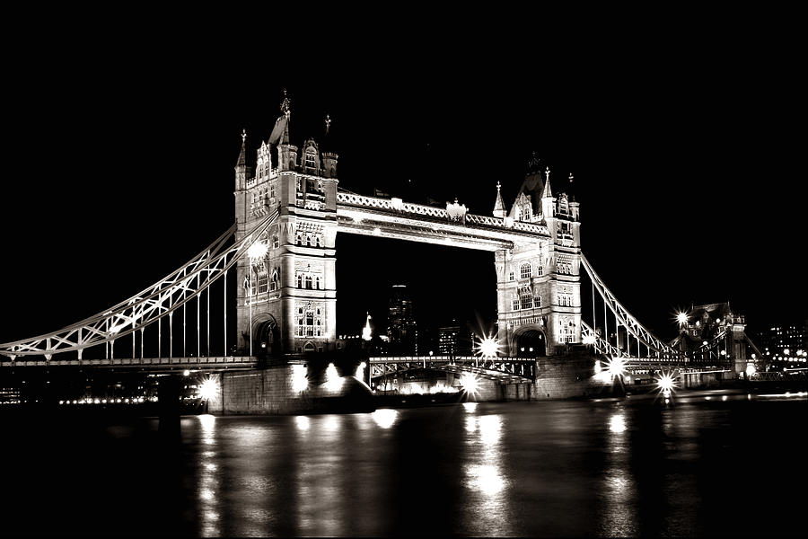 Tower Bridge Photograph - Tower Bridge London by Alex Loban