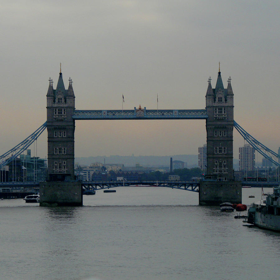 London Photograph - Tower Bridge, London by Misentropy
