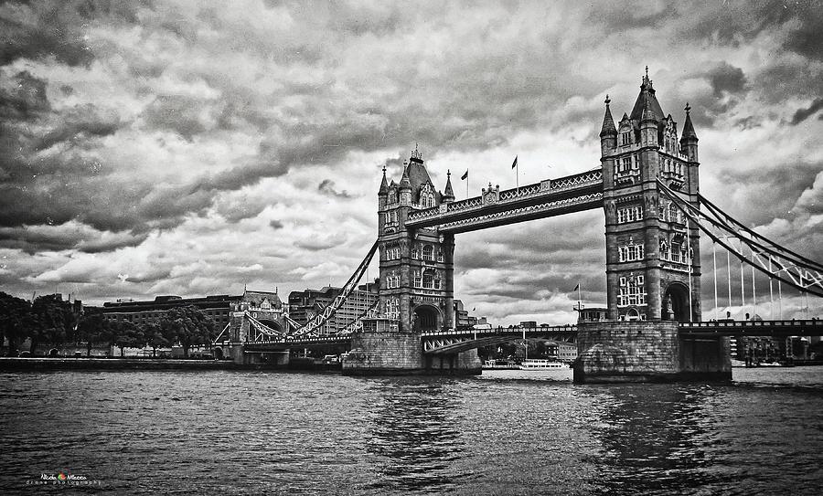 Bridge Photograph - Tower Bridge by Nicola Maria Mietta