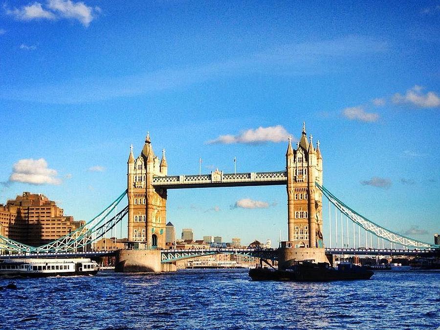 Tower Bridge Photograph - Tower Bridge by Rossana Azzoni