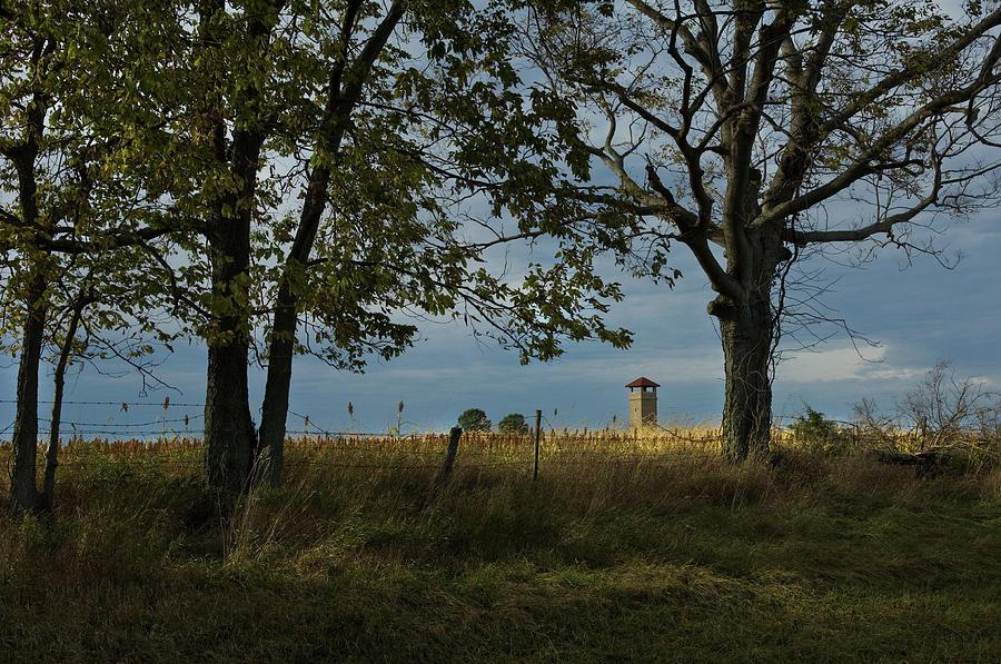 Tower in the Distance, Antietam Battlefield, Sharpsburg, Maryland by James Oppenheim