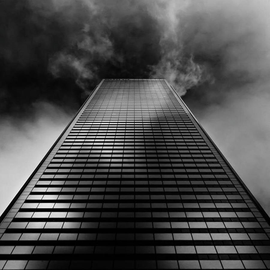 Toronto Photograph - Tower Of Doom  #toronto #blacknwhite by Brian Carson