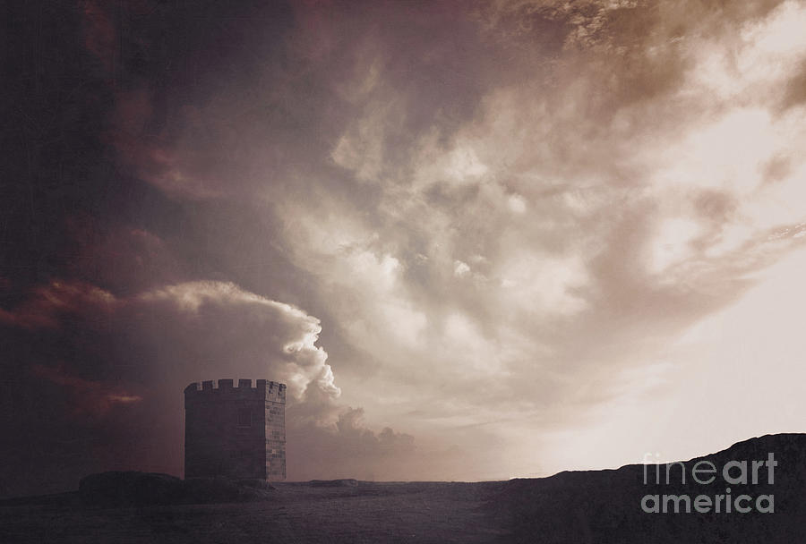 Tower Photograph - Tower Of Strength by Karen Black