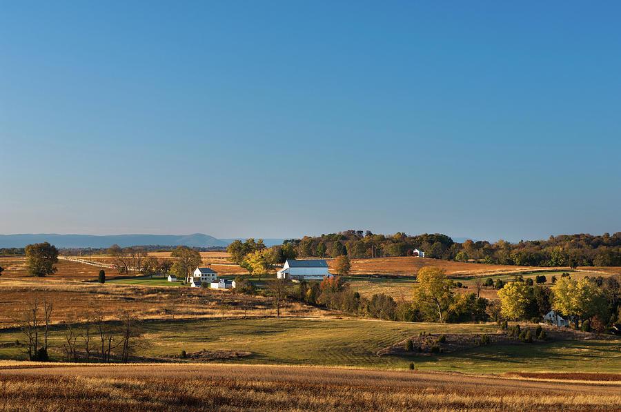 Tower View, Mumma Farm, Antietam National Battlefield Park, Shar by James Oppenheim