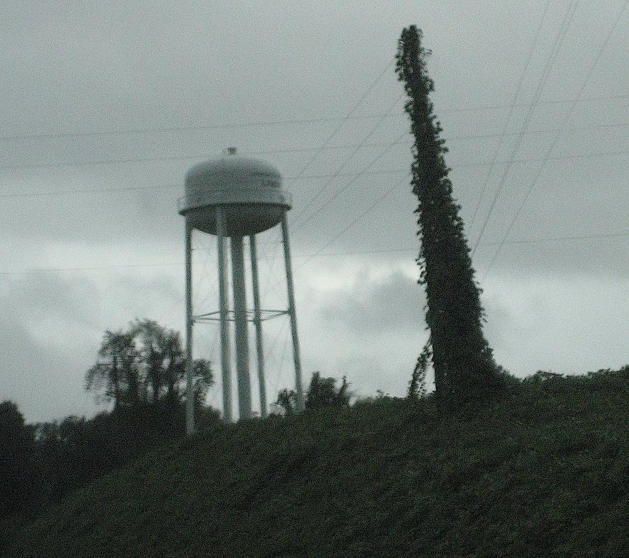 Southern Landscape Photograph - Tower With Intersecting Lines I by Stephen Hawks