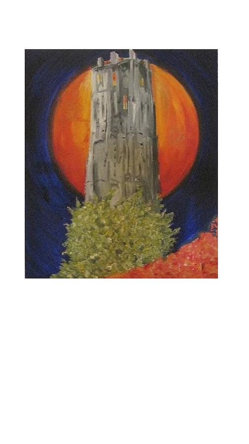 Towering Inferno Mechelen Painting by Dirk Ghys