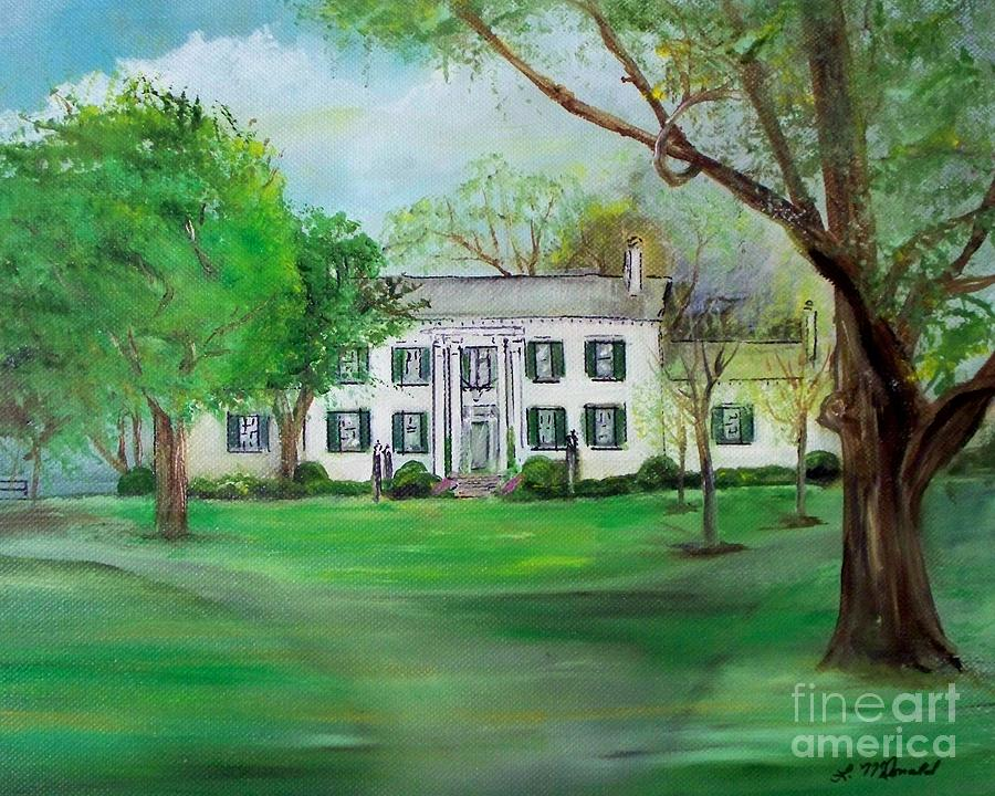Estate Painting - Town And Country Farm Lexington by Lynda McDonald