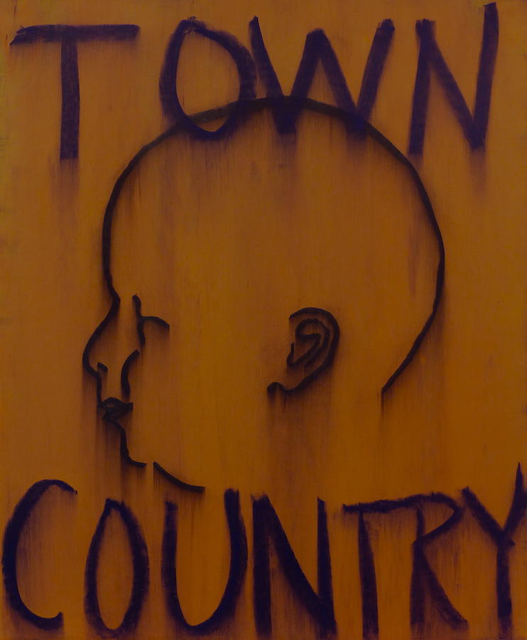 Baby Painting - Town/country by Steve Briscoe