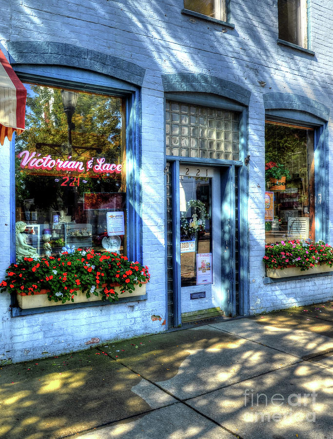 Small Towns Photograph - Town Of The Rising Sun 3 by Mel Steinhauer