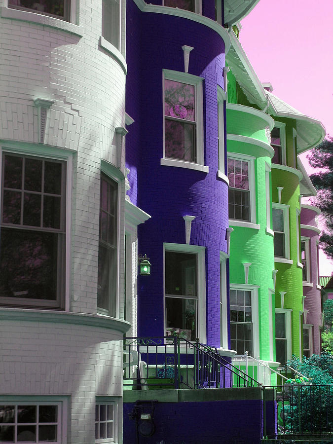 Townhouses Photograph - Townhouse Row 4 by Sean Owens