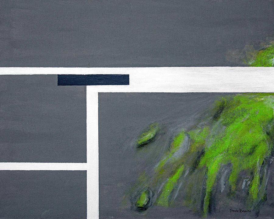 Abstract Painting - Toxic by Slade Roberts