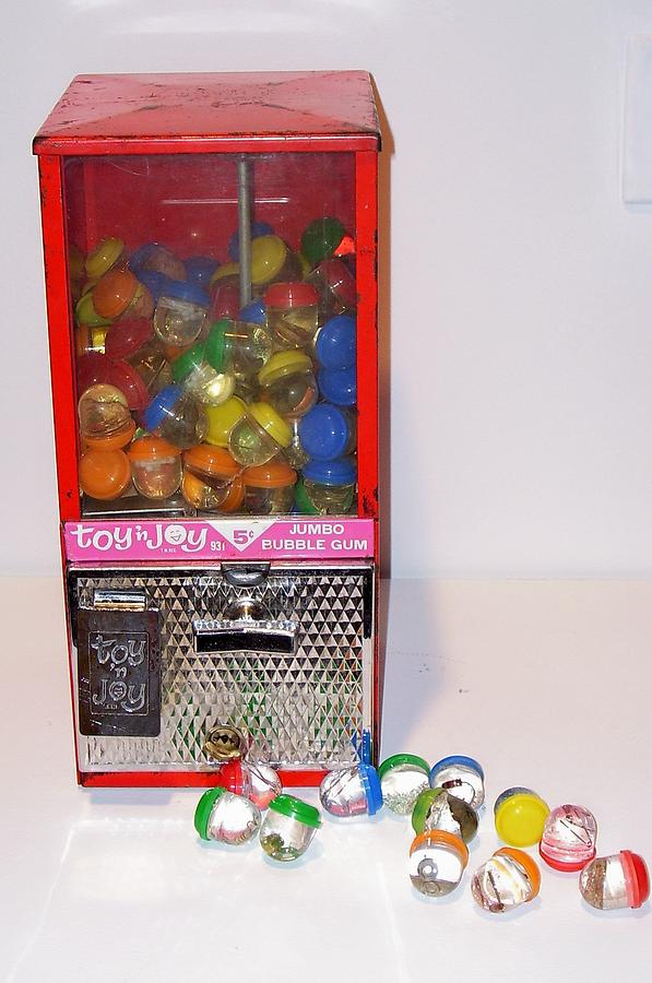 Found Objects Sculpture - Toy N Joy by Sher Fick