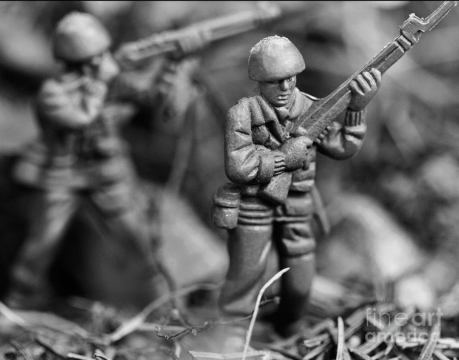 Toy Photograph - Toy Soldiers by Randy Steele