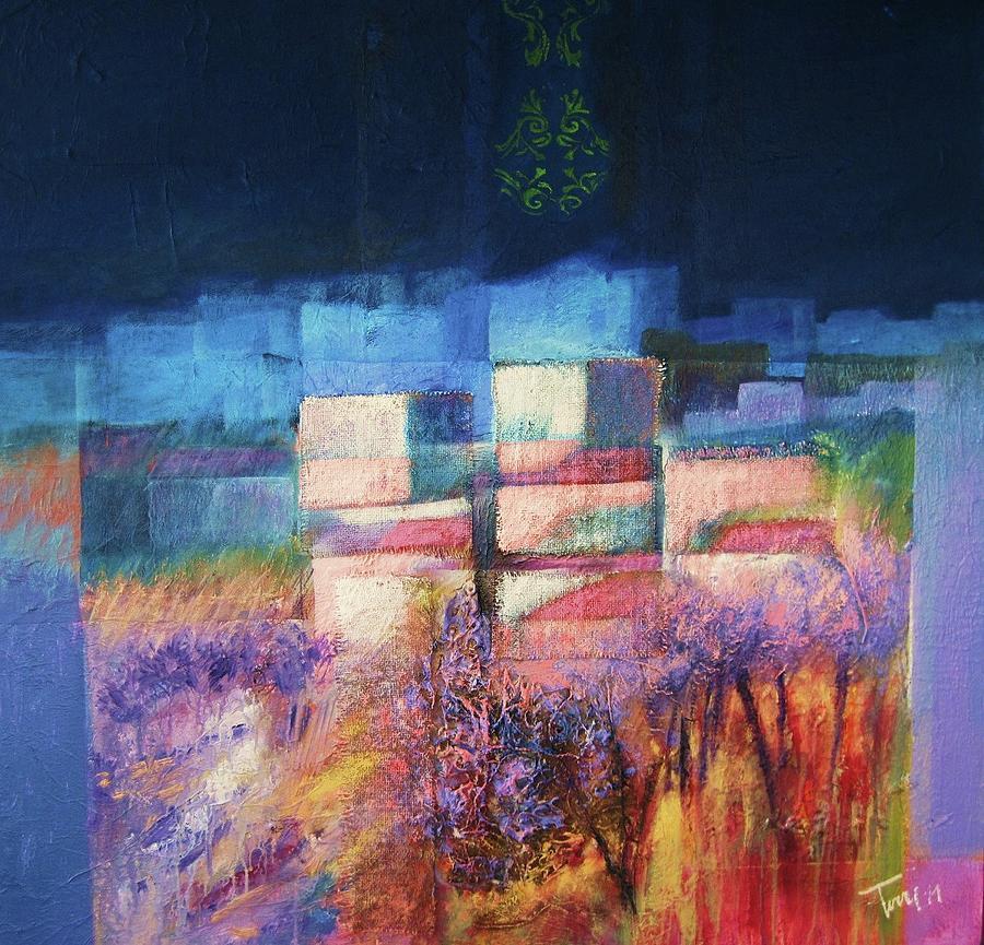 Landscape Painting - Tra Lume E Lustro by Luigi Torre