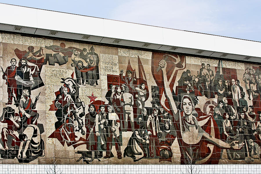 Socialism Photograph - Traces Of Socialist Idealism In Dresden by Christine Till