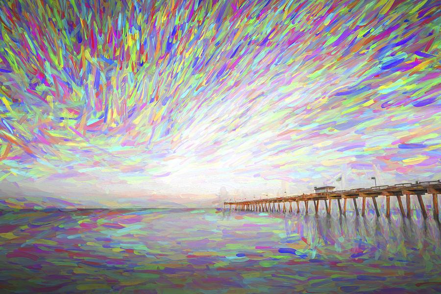 Amber Digital Art - Tracking The Sky II by Jon Glaser