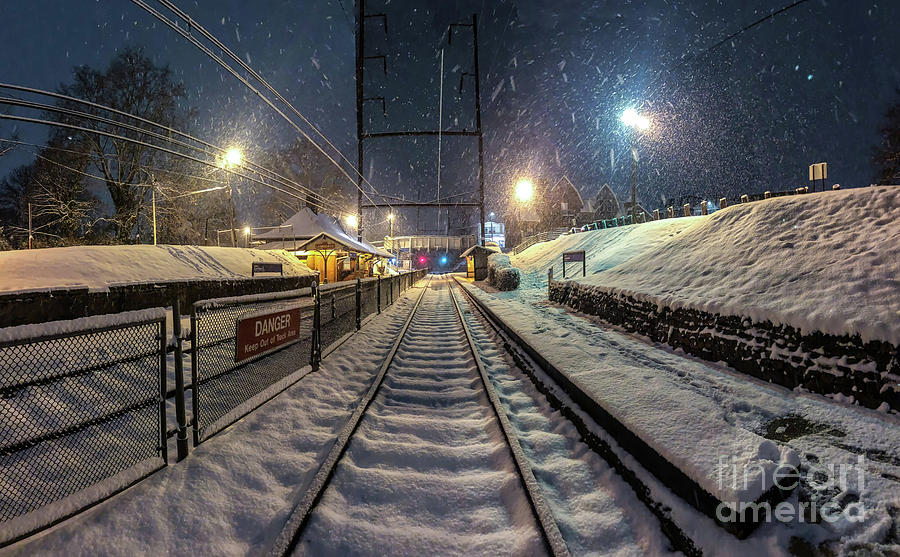 Tracks in Snow by Stephen McDowell