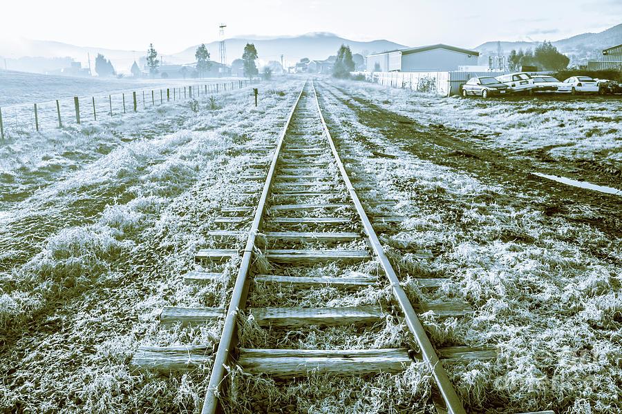 Tasmania Photograph - Tracks To Travel Tasmania by Jorgo Photography - Wall Art Gallery