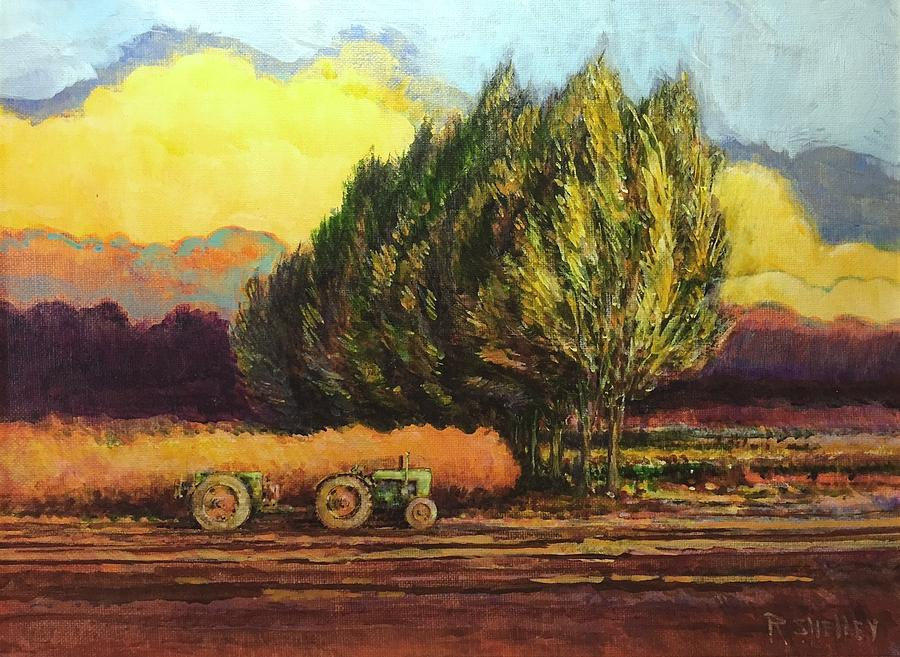 Tractor at 5 PM by Ronald Shelley