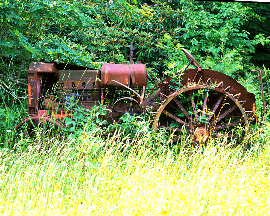 Tractor Photograph - Tractor  by Robert Ponzoni