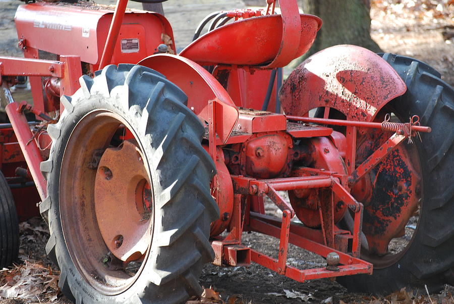 Tractor Photograph - Tractor by Peter  McIntosh