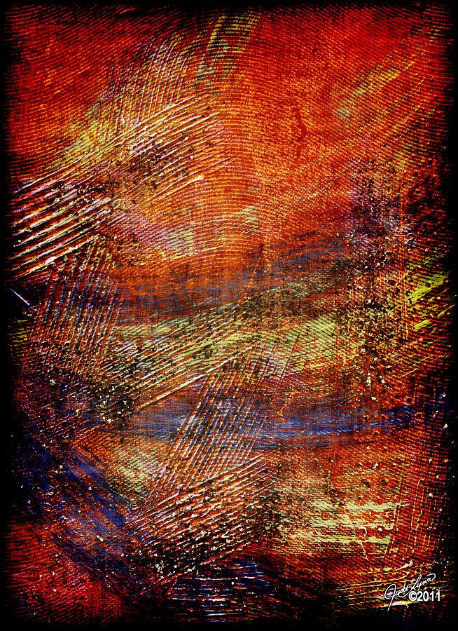 Acrylic Painting - Tradewind by The Art Of JudiLynn