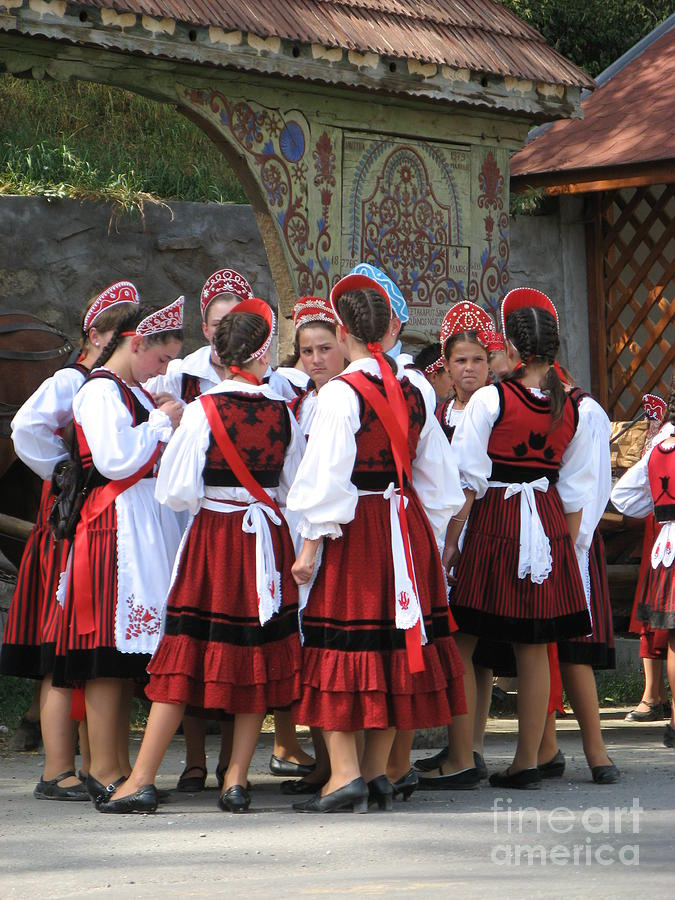Celebration Photograph - Tradition In Harghita County by Gabriela Insuratelu