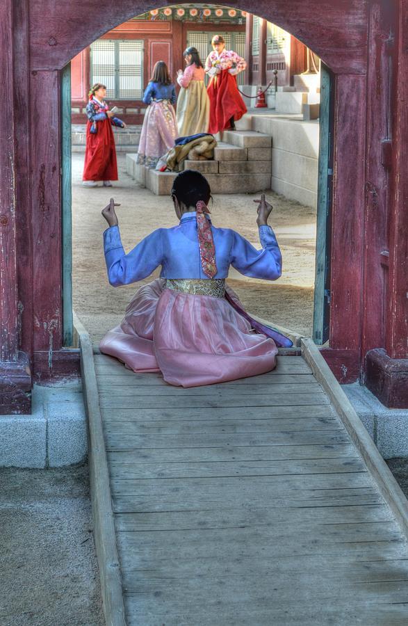 Traditional Clothes in Korea by Bill Hamilton