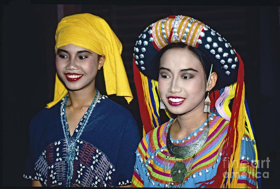 Traditional Dressed Thai Ladies Photograph