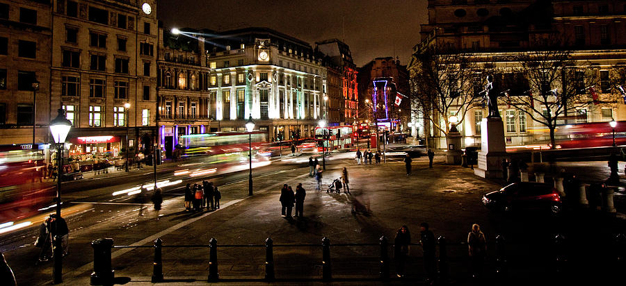 City Photograph - Trafalgar Square by Ken Yan