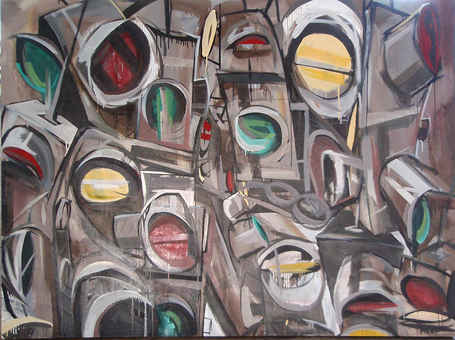 Image result for traffic paintings
