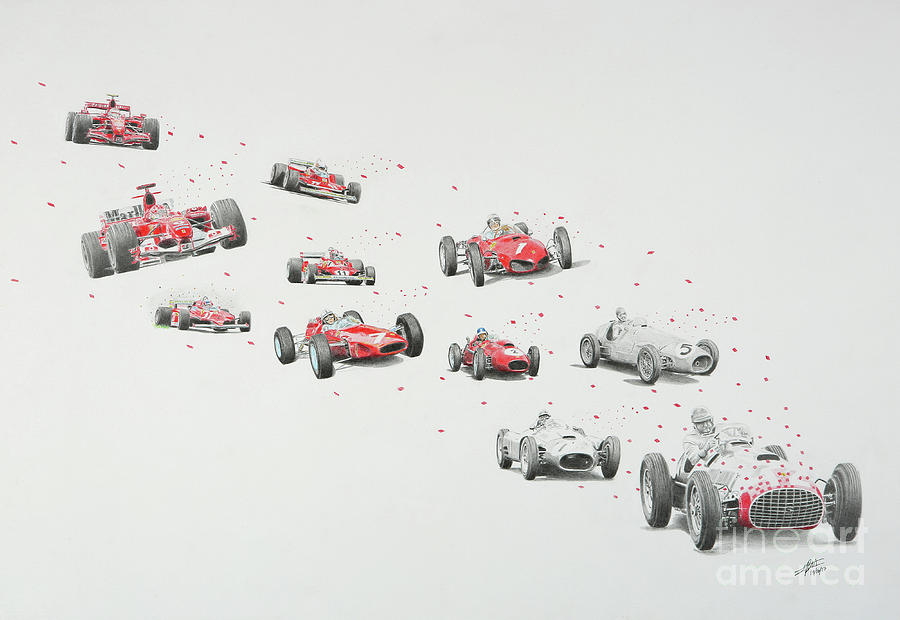 Trail of Champions Ferrari by Lorenzo Benetton